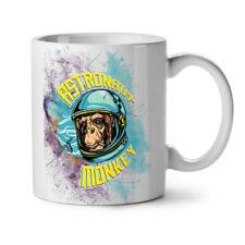 Astronaut Monkey Space NEW White Tea Coffee Mug 11 oz | Wellcoda