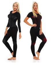 Thermique Sous-Vêtements Set Sous-Vêtement Long Ski Femme Courtes S M L XL