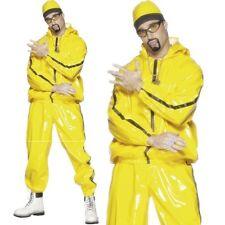 Uomo Rapper Costume Alì G Vestito Nuovo Da Smiffys