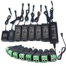 AC100-240V To DC12V 1/2/3/5/6/8A/10A Power Supply Adapter Transformer LED Strip