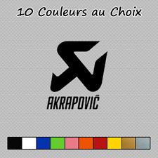 Sticker Akrapovic Logo Decal Moto Voiture Accessoires AKR01 Couleurs au choix