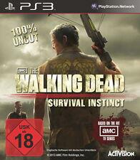 SONY PS3 The Walking Dead: Survival Instinct PlayStation 3 deutsch OVP gebraucht