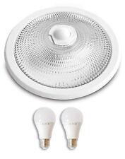 Deckenleuchte Deckenlampe mit Bewegungsmelder Sensor mit zwei LED Leuchte Flur
