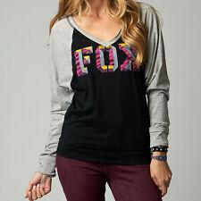 Fox Racing Fox Girl Chance Long Sleeve Shirt Black