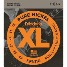 D'Addario XL Pure Nickel Electric Guitar Strings - Various Gauges & Jazz Gauges
