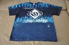 NWOT Tampa Bay Rays Men's Tie Dye T-Shirt (M, L, XL, 2XL) Shirt Jersey Hat