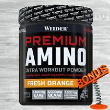 28,11 €/kg Weider Premium Amino Powder 800g Dose + Bonus / EAAs BCAAs Glutamin