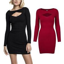 Urban Classics Ladies - CUT OUT Mini Strick Abend Kleid