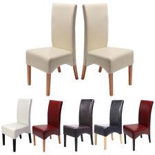 Set 2x sedie Latina pelle per sala da pranzo colore a scelta