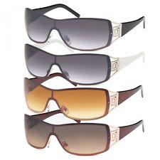 Sonnenbrille Monoscheiben Brille Damen Herren Sonnenbrillen Retro Aviator B552