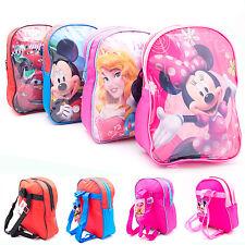 Disney mochila mickey mouse cars Minnie princesa niños jardín bolso original
