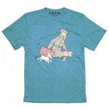 T-shirt Tintin and Snowy Le Petit Vingtième ils arrivent !! Blue (2017)