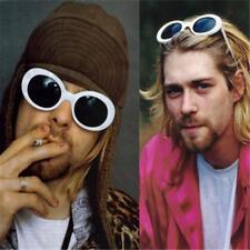 Clout Nirvana Kurt Cobain Alien Oval Frame Halloween Retro Costume Sunglasses