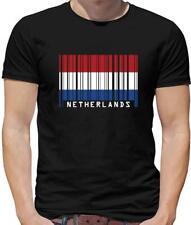 Netherlands Flag Mens T-Shirt - Dutch - Holland - Amsterdam - Flags - Football