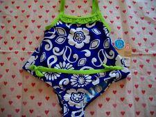 CARTER'S BABY GIRLS BATHING SUIT SWIM SUIT BLUE UPF+40