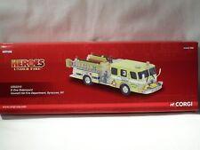 CORGI E-One Sidemount Fire Truck~Syracuse NY~US52210