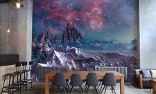 3D Star Mountain 745 Wallpaper Mural Paper Wall Print Wallpaper Murals UK
