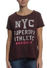 Superdry Camiseta T-Shirt Women WORN LAVADO TEE BF Higo Marga