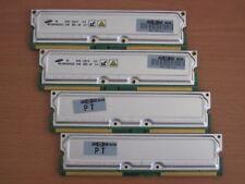 4GB 4x1GB 800-40 RDRAM Rambus Rimm 4 HP ES47 ES80 GS1280 20-1F88A-01 3X-MS7AB-DB