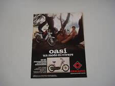 advertising Pubblicità 1979 CIMATTI OASI 49 CC