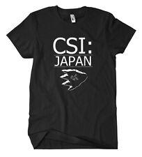CSI Japan T-Shirt Kult Fun Godzilla Tokyo Film Movie Monster Gojira Nippon Cult
