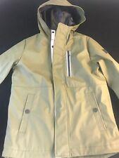 BNWT MICHAEL KORS Boys  Moss Polyurethane Coated Rain Coat MKLogo Hooded Age 8