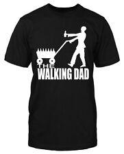 Walking Dad Trinker T-Shirt Bier Vatertag Sauf Herrentag Fun Sprüche Funshirt