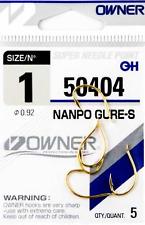 Owner Haken NANPO GURE-S 50404 versch. Großen Angelhaken Hacken
