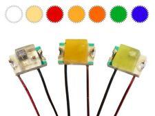 SMD LED 0805 Blinkend Flashing LEDs mit 15cm Lackdraht in verschiedenen Farben