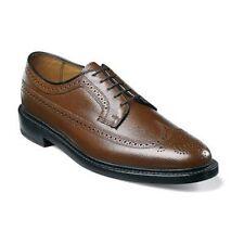 Florsheim Imperial Cognac Mens shoes Wing Tip Calf SKIN Leather 17109-03 SALE