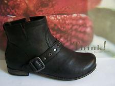 Think! Boots Modell Denk Stiefel schwarz rustic incl. THINK Papiertüte