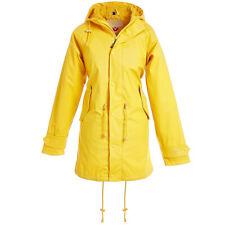 BMS HafenCity® Parka - SoftSkin® - Regenmantel gelb Kapuze Friesennerz Gr. 34-56