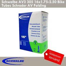"""32-44//288//305 1stück Schwalbe NR.2 Fahrradschlauch AV2// AV2A//DV2 14/""""x1.75-2.35"""