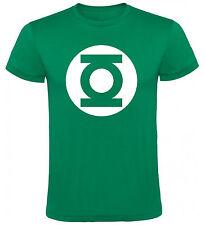 Camiseta Linterna Verde logo DC Comics Hombre varias tallas