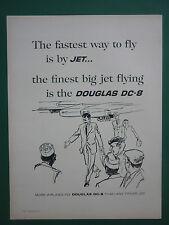 5/1961 PUB DOUGLAS DC-8 AIRLINER AIRLINES / ATLAS COPCO COMPRESSED AIR ADVERT