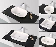 Aufsatz Waschtisch SLIM-DESIGN Mineralguss Waschplatz Waschbecken Waschschale