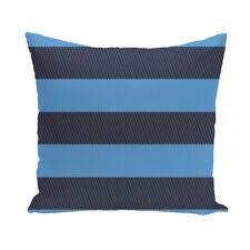 Contrasting Stripes 26-inch Square Decorative Pillow