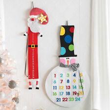 NUOVO Mud Pie babbo natale o pupazzo di neve calendario