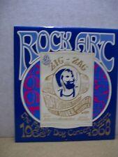 Rock Art Calendar 1995 (Family Dog Concert Posters 1966-1968) (USA)