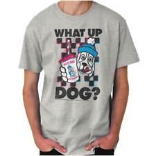 What Up Dog Retro Slush Puppie Dog Logo Gift Short Sleeve T-Shirt Tees Tshirts