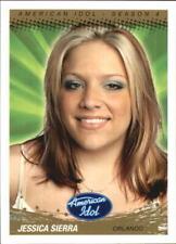 2005 American Idol Season Four Gold Non-Sport Card #2 Jessica Sierra