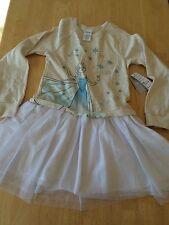 NWT DISNEY STORE Frozen Elsa DRESS for Girls SZ 9/10 Queen