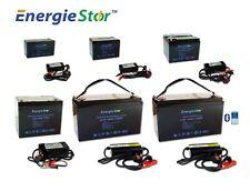 LiFePo4 Battery 12.8V Lithium-Ion Iron Phosphate 12V Deep Cycle Heavy Duty