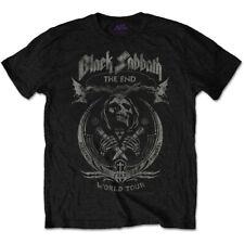 Black Sabbath Mens Black Short Sleeve T-Shirt The End Mushroom Cloud Official