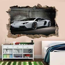 Supercar Sports Car Wall Stickers Mural Decal self-adhesive Print Art AM1