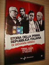 DVD N° 2 STORIA DELLA PRIMA REPUBBLICA ITALIANA DI GIOVANNI MINOLI 1946-1948