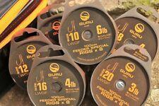 GURU LWGF 1m Feeder Special Ready Tied Rigs - 8 rigs per spool