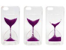 ^ FUN CASE Stundenglas Cover Hülle Flüssig Glitzer iPhone 5 iPhone 5G 5S 5SE