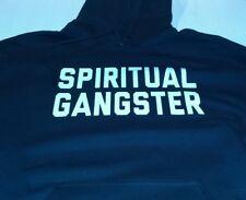 New Spiritual gangster HOODIE sweatshirt yoga  shirt GYM Bar tattoo ohm peace