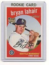 Bryan LaHair 2008 08 Topps Heritage Rookie Card #566